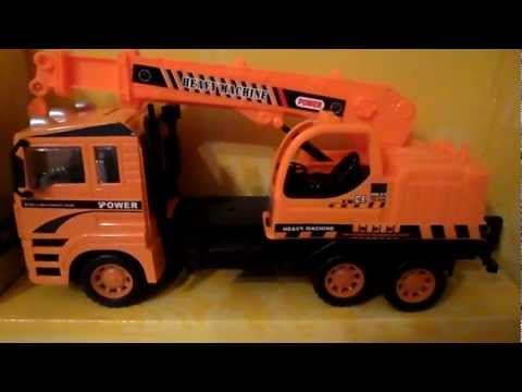My best Dickie Simba Mobile Truck Crane Toy 2014