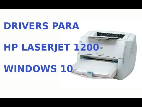 Drivers HP Laserject 1200 Series Windows 10.