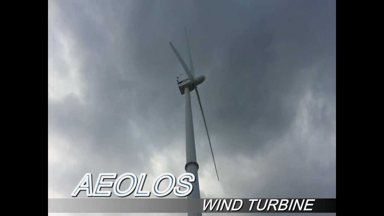 15kw Wind Turbine - Aeolos Wind Turbine
