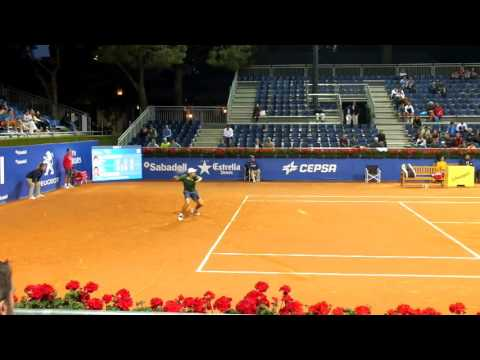 Some points of Carlos Berlocq vs Kevin Anderson - Barcelona Open Banc Sabadell 2017 [HD]