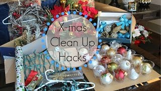 Christmas Clean-Up Hacks: 7 Tips For Storage (Ornaments, Lights, Ribbon, Wrapping Paper)