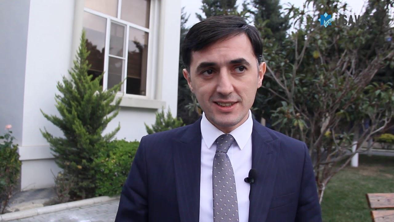 Ağ partiya başqanı Tural Abbaslı Rauf Arifoğlunu dəstəklədi - YouTube