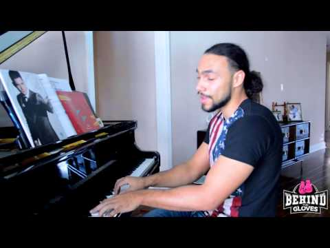 EXCLUSIVE: At home with Keith Thurman playing the piano