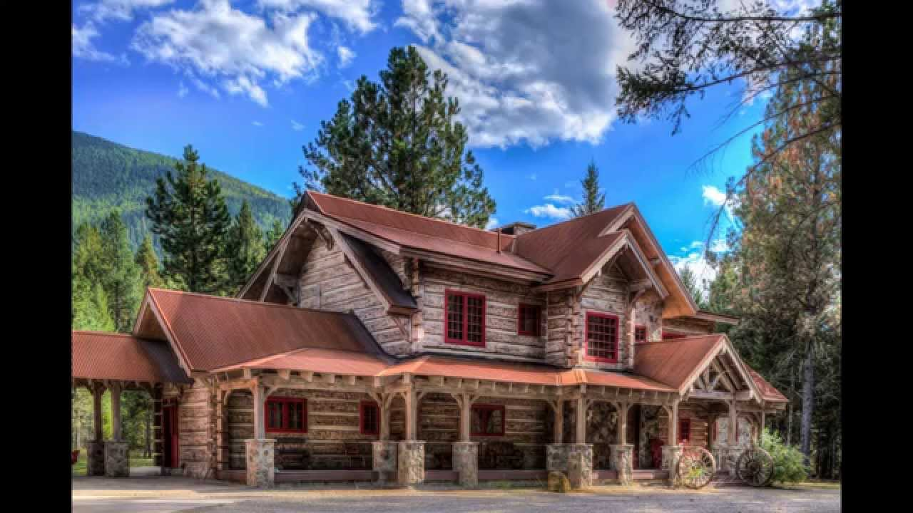 Arlee Montana Concrete Log Home Youtube