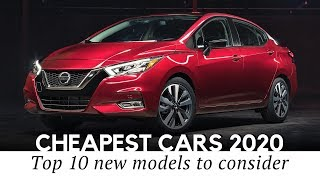 10 Cheapest Cars to Buy New on the Humblest Budget in 2020