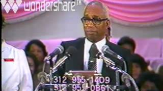 APOSTLE R.L. MITCHELL PRAISE BREAK  THE OLD LANDMARK CHURCH IN THE WORD OF GOD!!