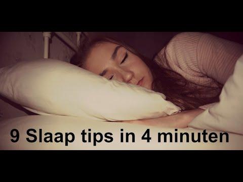 9 Slaap Tips in 4 minuten   Sterre van der Gouw