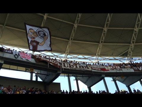 FC Sankt Pauli - RB Leipzig 1:0 23.08.2015 / Ultras Sankt Pauli / Support / Auswärtssieg / Fans