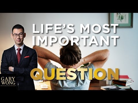 The Most Important Question In Business