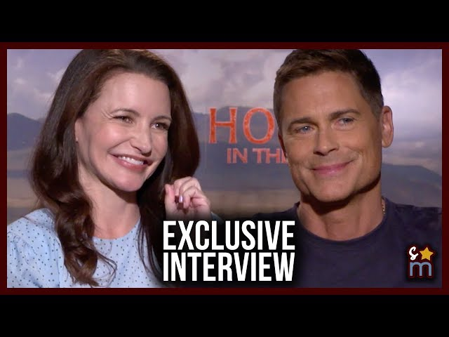 HOLIDAY IN THE WILD Interview: Rob Lowe & Kristin Davis On Reuniting & Their Next Project Together