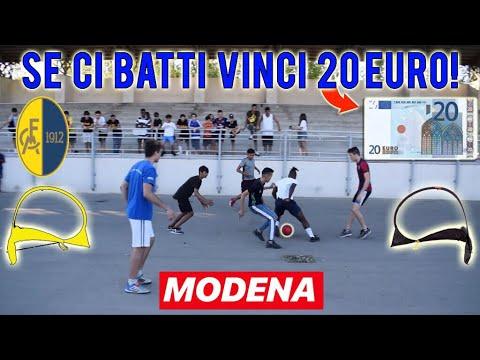 REGALIAMO 20 EURO a chi riesce a BATTERCI a calcio a Modena! - Sfide 2 VS 2