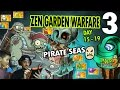 Dad & Mike play PVZ Zen Garden Warfare! Pirate Seas Ballerina Days 15 16 17 18 19 (Prep 4 Ice Ages)