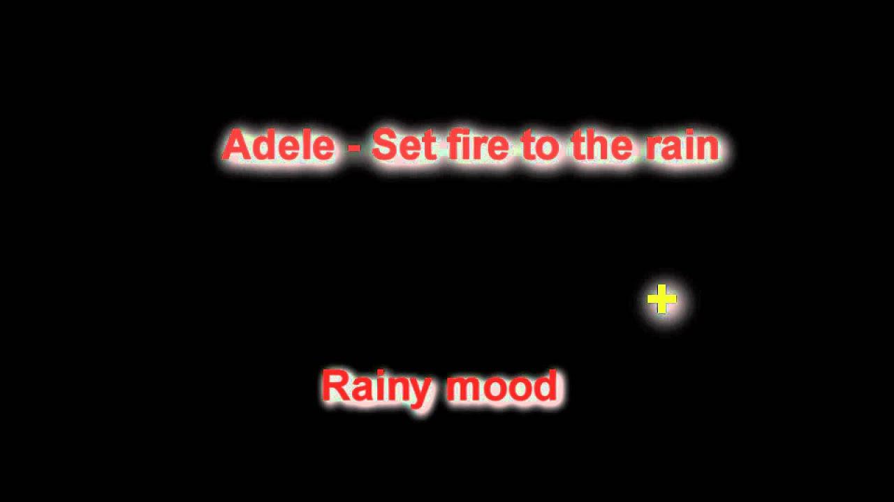 Fire, rain & smooth jazzmp4 - YouTube