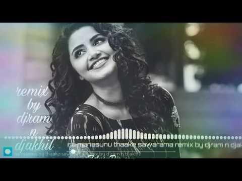Naa Manasuni Thake Swarama  Remix  Dj Akhil&dj Ram  Official