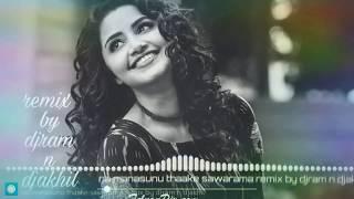 Naa Manasuni Thake Swarama | Remix | Dj Akhil&Dj Ram | Official