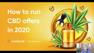 How to promote CBD offers in 2020? Webinar by Marketcall.net