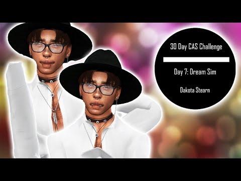 DAY SEVEN - DREAM SIM | SIMS 4 30 DAY CREATE A SIM CHALLENGE |