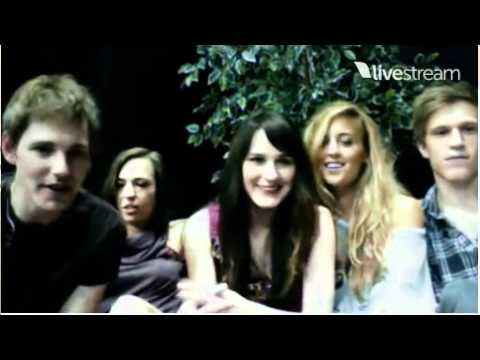 Owl City Live Band Chat Livestream June 10, 2011 (Part 1/2)