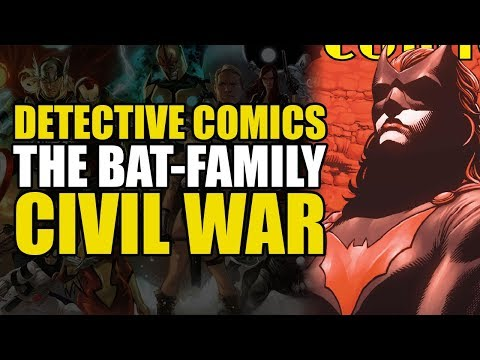 The Bat-Family Civil War Begins (Detective Comics Rebirth One Shot)