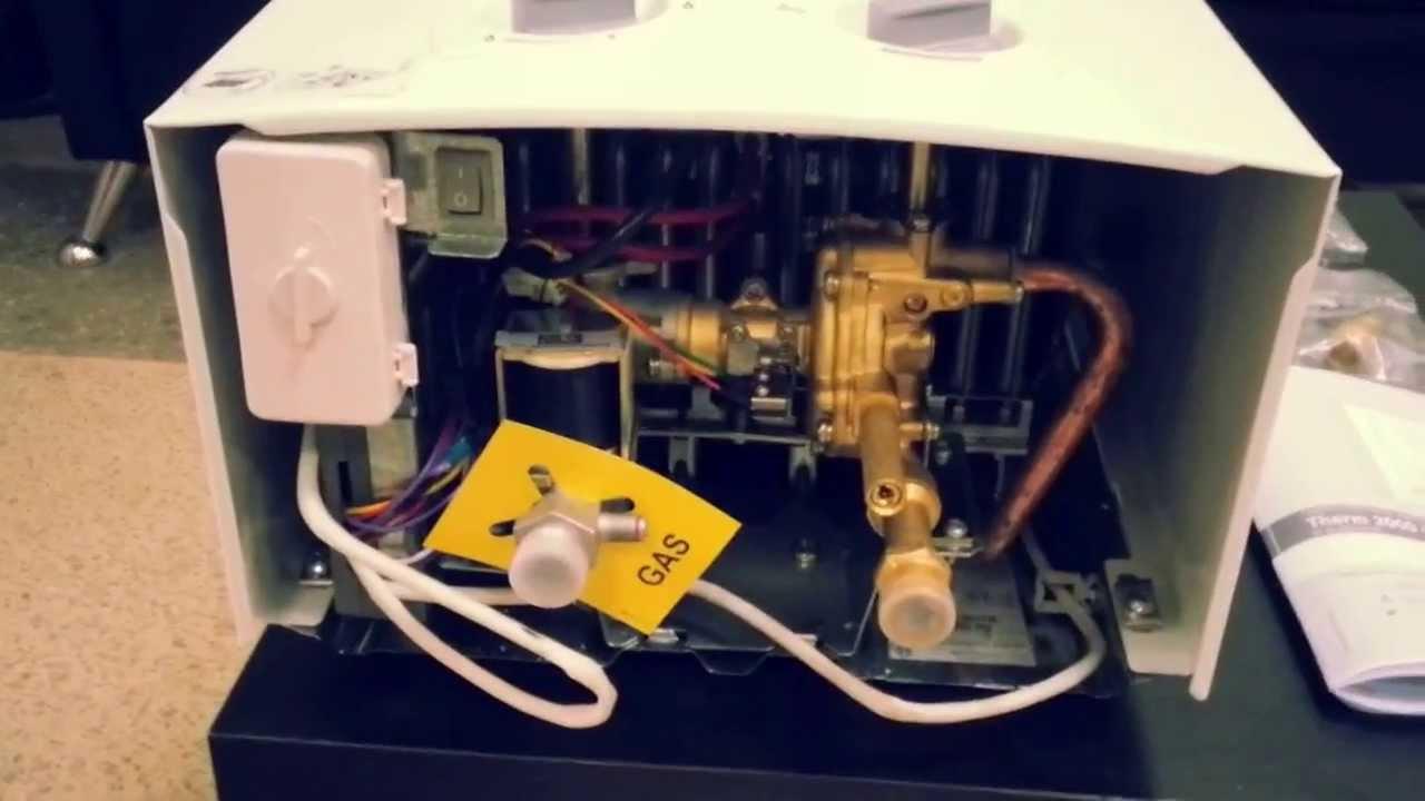 Газовая колонка Bosch WR 13 2 B обзор - YouTube