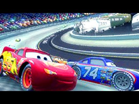 Cars 1 the Videogame 360 -No Com 50- Lightning Mcqueen S1 VS PISTON CUP CHAMPION MOTOR SPEEDWAY