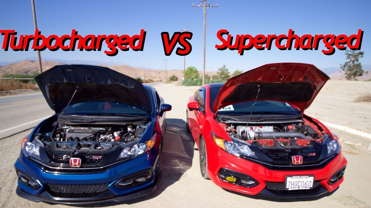 Turbocharged 9th Gen Vs Supercharged