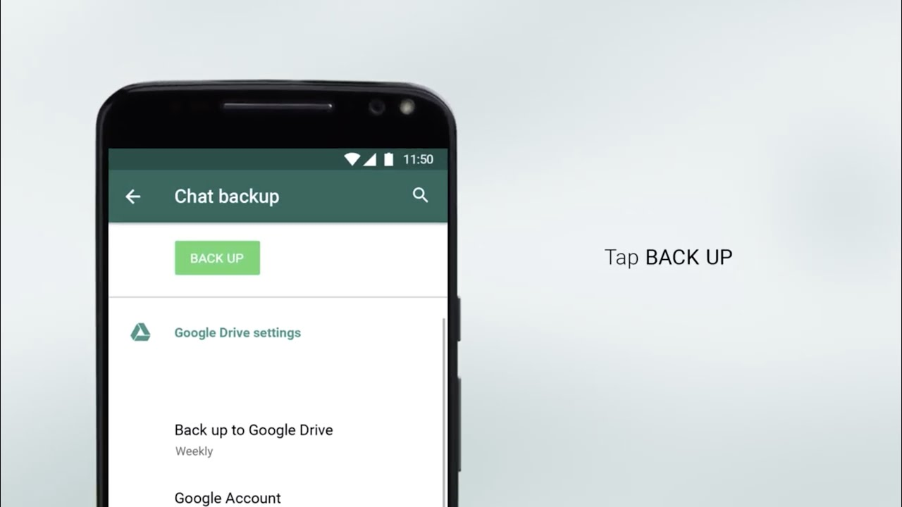 How to back up WhatsApp on Android