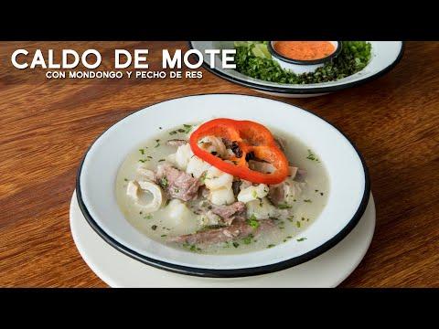 COMO PREPARAR CALDO DE MOTE (PATASCA O MONDONGO) | COMIDA PERUANA | ACOMER.PE