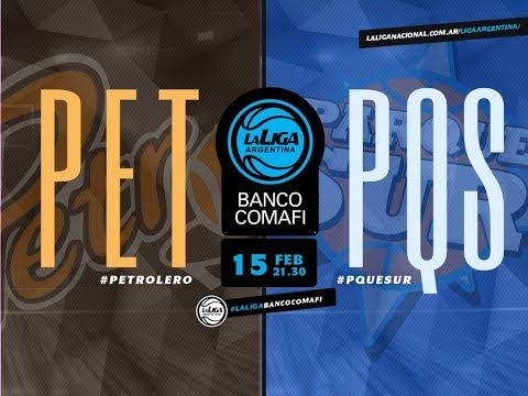#LaLigaArgentinaBancoComafi | 15.02.2019 Petrolero vs. Parque Sur