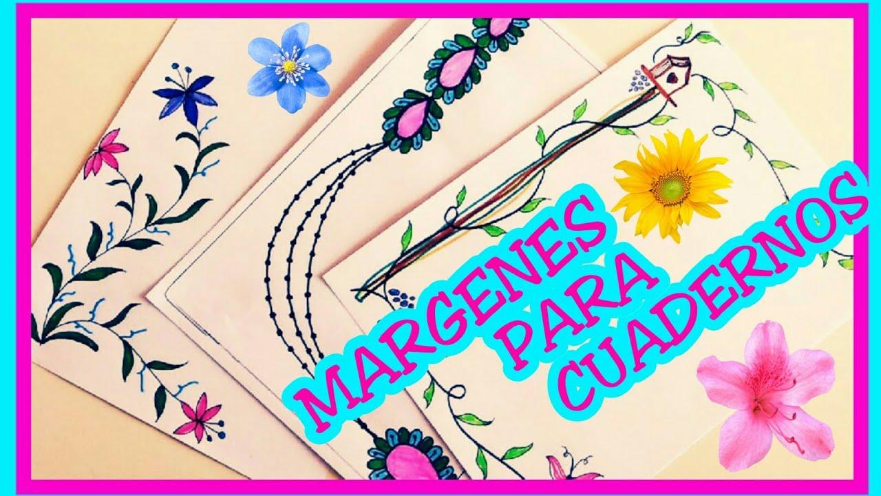 Margenes Para Cuadernos Como Hacer Margenes Bonitos Margenes