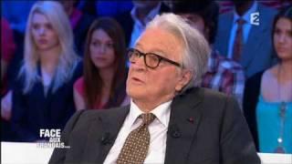Roland Dumas : Mitterrand a fait monter le Front National par tactique - Emission Face aux Français