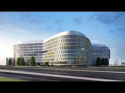 Budapest ONE Business Park image film