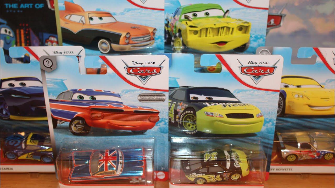 Mattel Disney Cars 2020 Case J Unboxing Metallic Union Jack Ramone Dirkson Airborne Jeff Gorvette Youtube