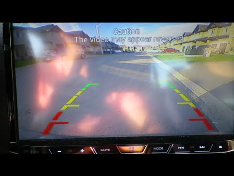 How to Install a Rear View or Backup Camera On a 2014 Scion tC with a Pioneer 4000-NEX