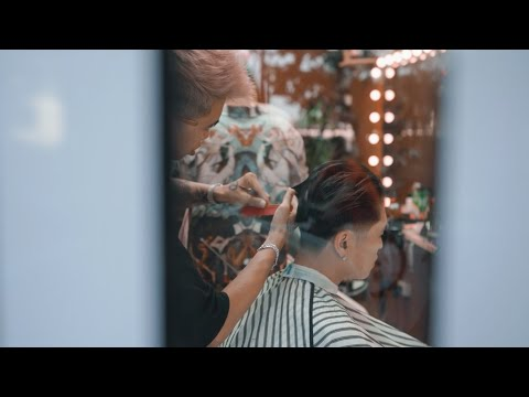 Theo Mình Cắt Tóc Tại Barber Đỉnh Nhất Hà Nội | Haircut With Benjamin Tran