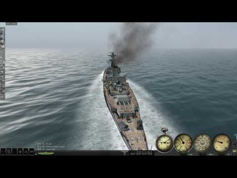 Silent Hunter 3 Deutschland heavy cruiser career mode #2