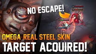 Strike of Kings Skins: REAL STEEL SKIN!! [Omega] Gameplay