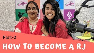 "How to Become A Rj ""Radio Jockey"" Part-2 
