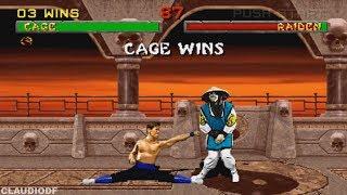 Mortal Kombat 2 (Arcade) - JOHNNY CAGE【TAS】