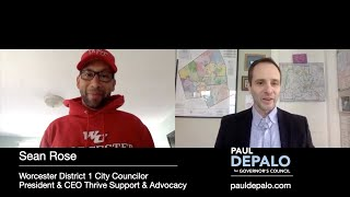 A few minutes with Paul DePalo and Worcester City Councilor Sean Rose