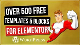 500+ Free Elementor Templates from Envato Elements Template Kits