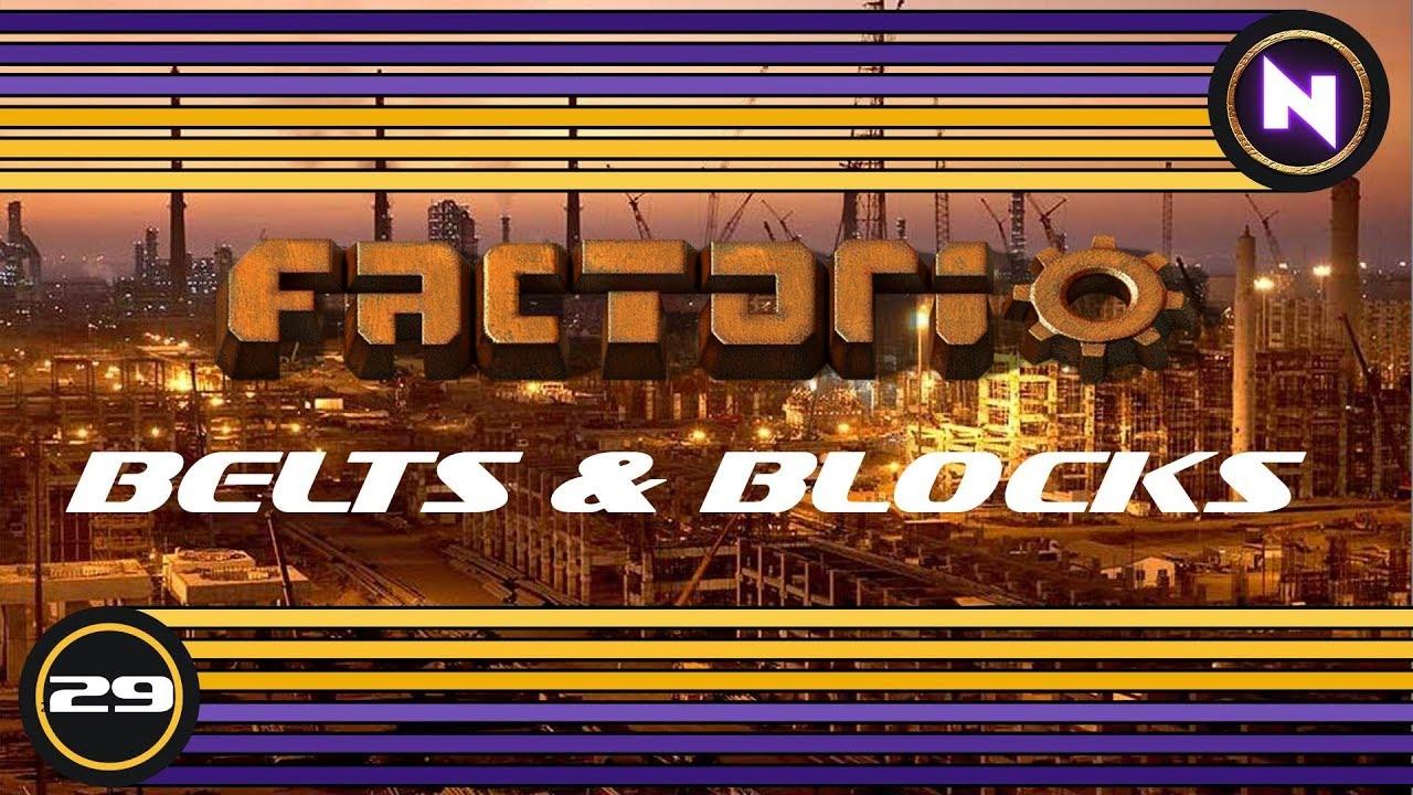 Factorio - Belts and Blocks - E29 - Uranium Processing - Nilaus