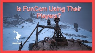 Conan Exiles - Is Funcom Using Their Players?