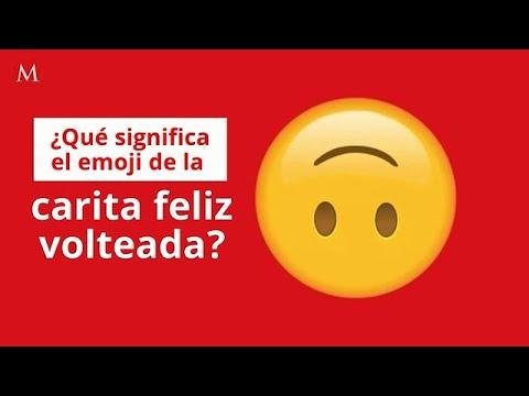 Qué Significa El Emoji De La Carita Feliz Volteada