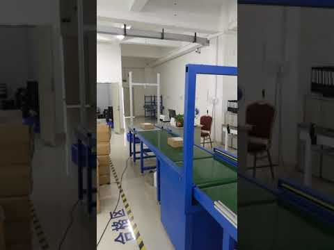 Shenzhen  ESPE automated dimension and weight measuring conveyor line