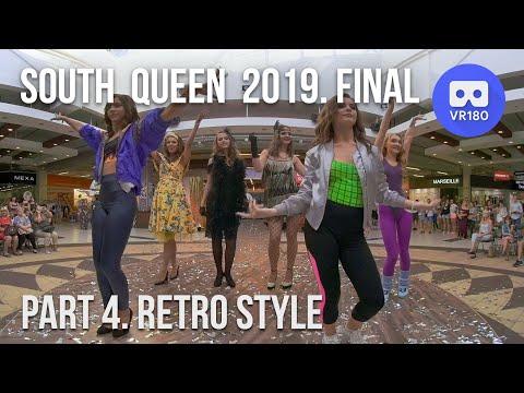 VR180 3D. Южная Королева 2019. Финал. Ретро-стиль