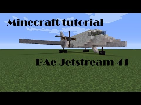 Minecraft Tutorial - BAe Jetstream 41