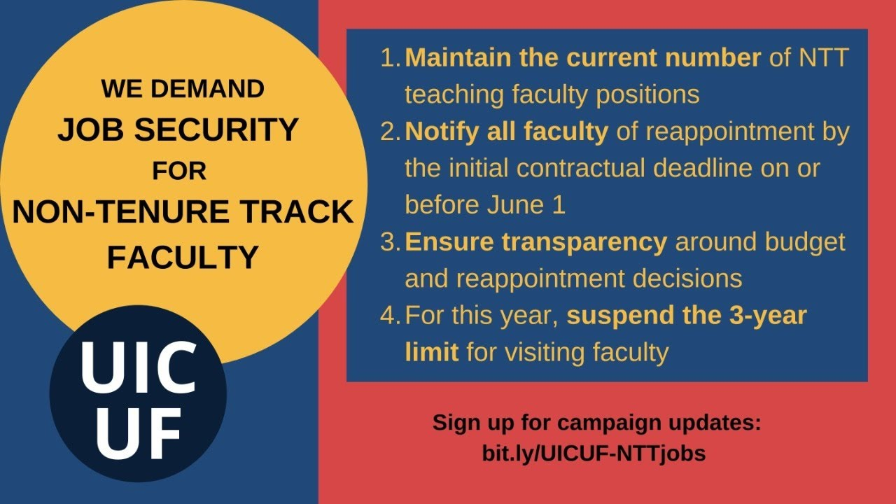 Uic Calendar 2022.Uic United Faculty News
