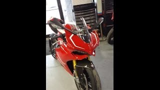 Ducati 1199 Panigale R With Clear Coat Carbon Fiber