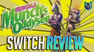 Oddworld Munch's Oddysee Switch Review (Video Game Video Review)